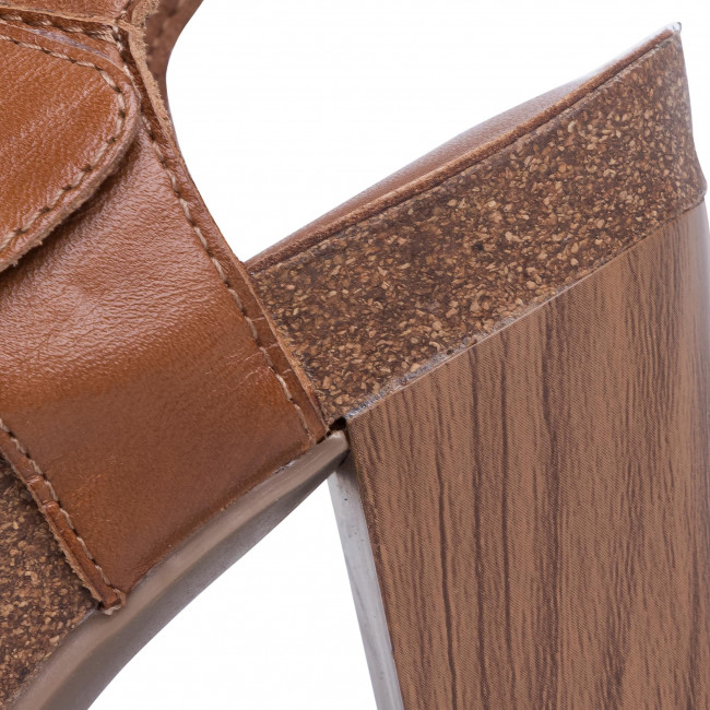 Sandalen CAPRICE - 9-28319-24 Nut Nappa 327 - Alltägliche Sandalen - Sandalen - Pantoletten und Sandaletten - Damenschuhe plfDDyer