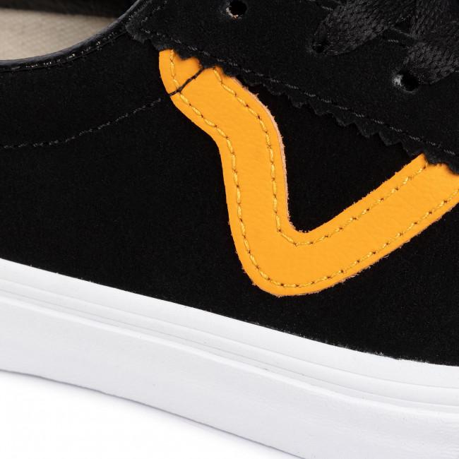 Sneakers VANS - Sport VN0A4BU6XW21 Black/Cadmium Yellow - Sneakers - Halbschuhe - Damenschuhe mLM5uK7i