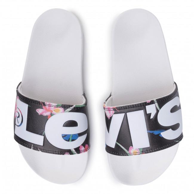 Pantoletten LEVI'S - 231570-1794-51 Regular White - Alltägliche Pantoletten - Pantoletten - Pantoletten und Sandaletten - Damenschuhe ymwEhB2C