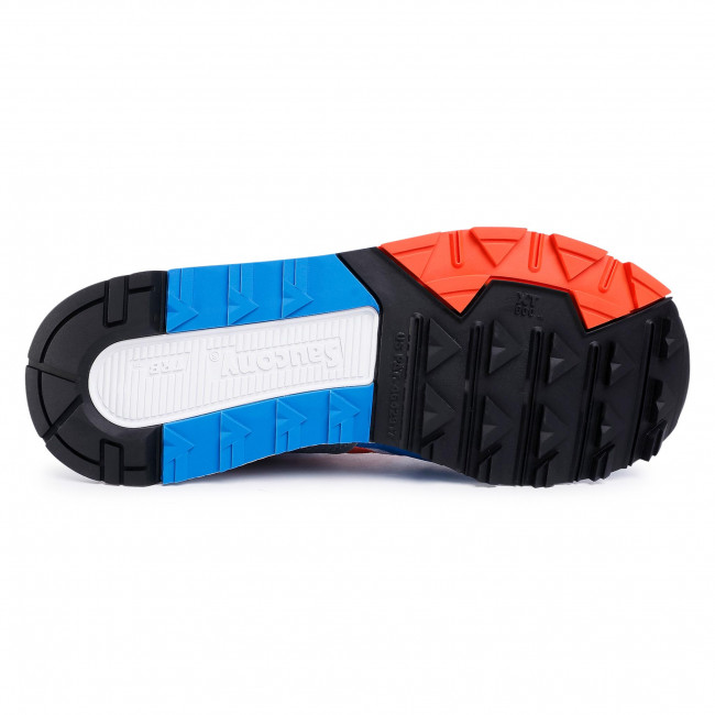 Sneakers SAUCONY - Azura S70437-36 Grey/Orange/Blue - Sneakers - Halbschuhe - Herrenschuhe jXYcYTu3