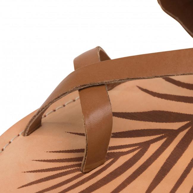 Sandalen PEPE JEANS - March Studs PLS90447 Tobacco 859 - Alltägliche Sandalen - Sandalen - Pantoletten und Sandaletten - Damenschuhe oaWOfOLS