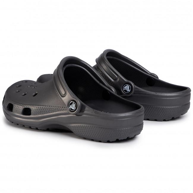 Pantoletten CROCS - Classic 10001 Graphite - Alltägliche Pantoletten - Pantoletten - Pantoletten und Sandaletten - Damenschuhe 9dDhhvLQ