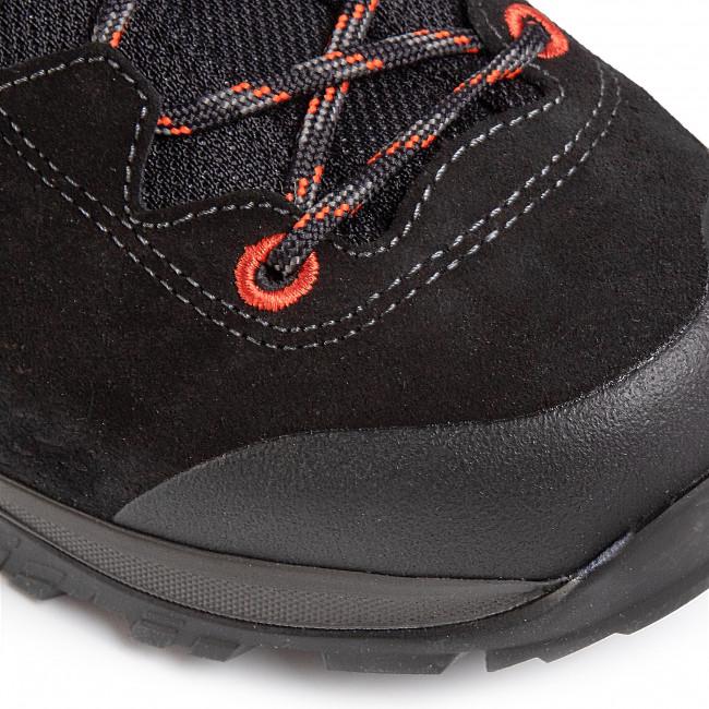 Trekkingschuhe LOWA - Ledro Gtx Mid GORWE-TEX 210716 Black/Flame 9960 - Trekkingschuhe - Stiefel und andere - Herrenschuhe 7ld5k40v
