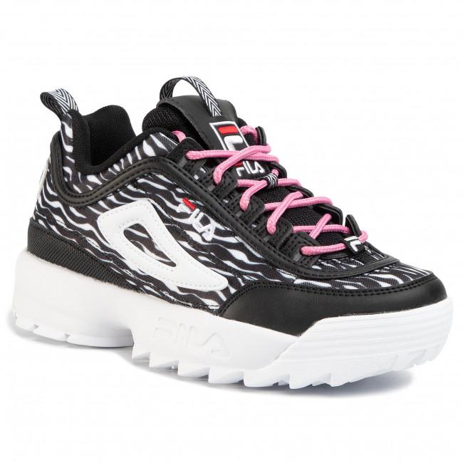 Sneakers FILA - Disruptor Animal Wmn 1010863.9YU Zebra Black - Sneakers - Halbschuhe - Damenschuhe k9S6c1As