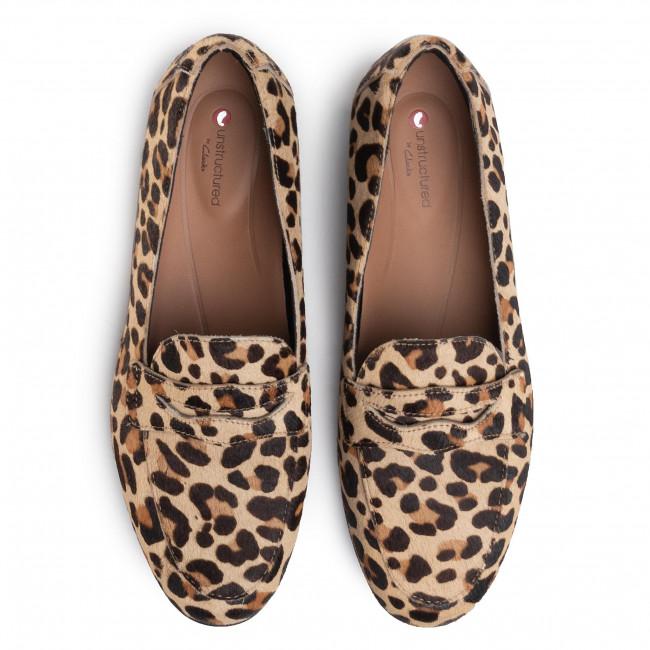 Lords Schuhe CLARKS - Un Blush Go 261461424 Leopard Prt Pony - Lords - Halbschuhe - Damenschuhe IIpBDWtw