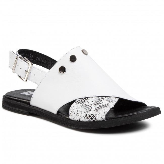 Sandalen NESSI - 20711 Weiß - Alltägliche Sandalen - Sandalen - Pantoletten und Sandaletten - Damenschuhe FWkz8dZO