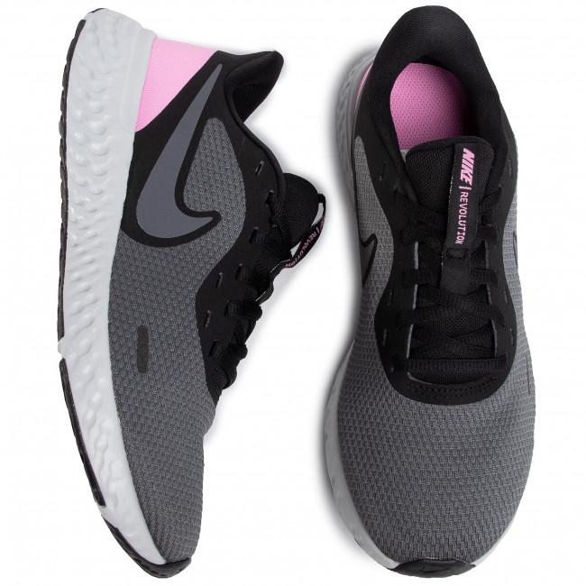 Schuhe NIKE - Revolution 5 BQ3207 004 Black/Psychic Pink/Dark Grey - für Training - Laufschuhe - Sportschuhe - Damenschuhe TFoEXAEH