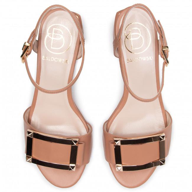 Pantofi cu toc subțire BALDOWSKI - D02443-2835-010 Skóra