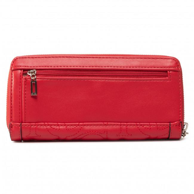 Große Damen Geldbörse GUESS - New Wave (Vg) Slg SWVG74 75460 RED - Damen Geldbörsen - Geldbörse - Leder-Galanterie - Zubehör awBc3VRz