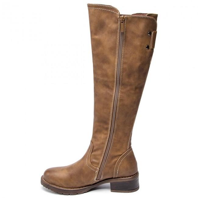 Schaftstiefel JENNY FAIRY - WS16357-16 Braun - Schaftstiefel - Stiefel und andere - Damenschuhe VlOlF1ez