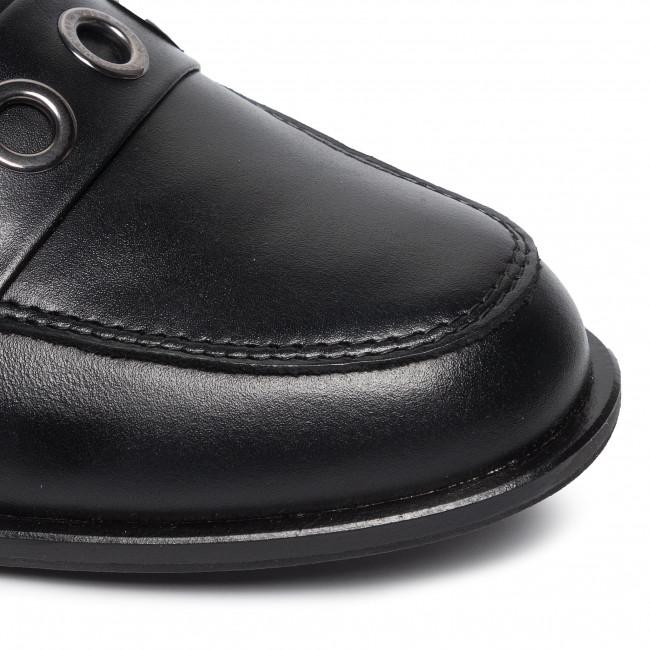 Lords Schuhe GINO ROSSI - 0198-03 Black - Lords - Halbschuhe - Damenschuhe kWYfe1TP
