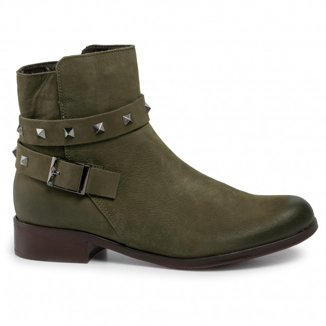 Stiefeletten LASOCKI - 70090-15 Khaki - Boots - Stiefel und andere - Damenschuhe CYRaCTnu