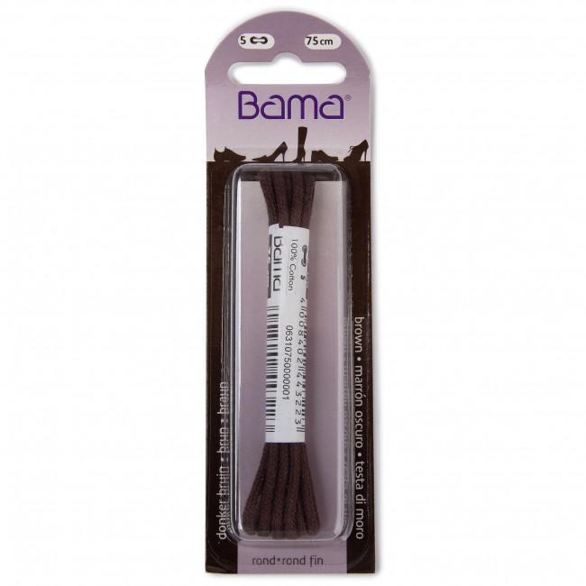 Schnürsenkel BAMA - CE75 Brown 033 - Schnürsenkel - Textilien - Zubehör AeSzCrYY