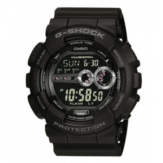 Uhr G-SHOCK - GD-100-1BER Black/Black