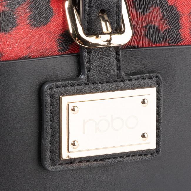 Tasche NOBO - NBAG-H0260-C020 Czarny z Czerwonym - Klassisch - Handtaschen 7EtpVOtU