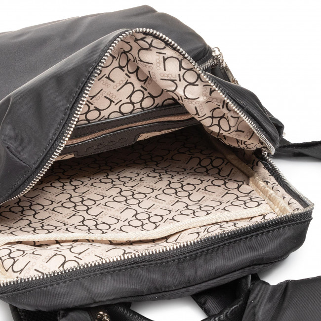 Rucksack NOBO - NBAG-I2020-C020 Schwarz - Notebook Tasche - Leder-Galanterie - Zubehör mX1o4ryO