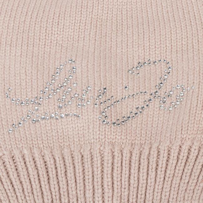 Mütze LIU JO - Beanie Maglia Logo 269017 M0300 Red Sand 61509 - Damen Mützen - Mützen - Textilien - Zubehör 6Rt3pjGo