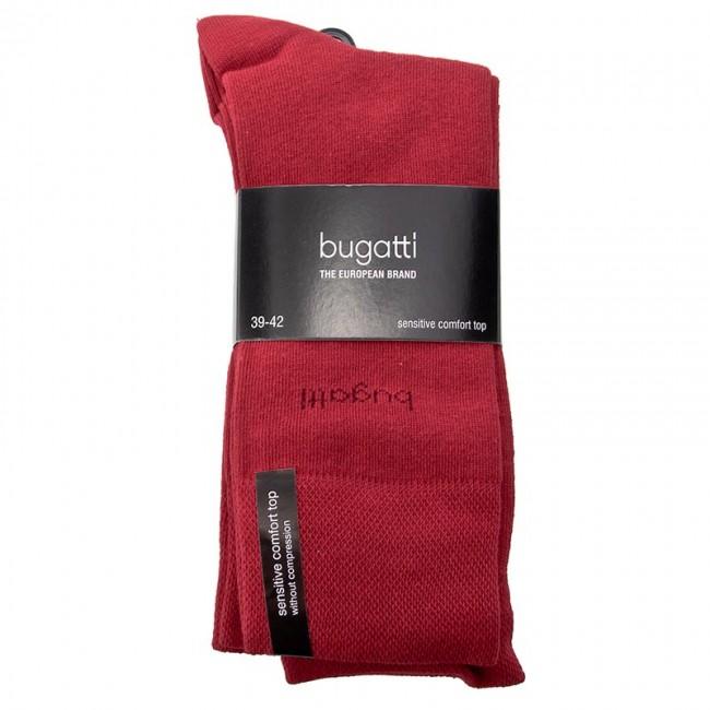 Set 3 Paar hohe Herrensocken BUGATTI - 6703C Rio Red - Hohe - Herren - Socken - Textilien - Zubehör gxZvaOog
