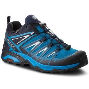 Trekkingschuhe SALOMON X Ultra 3 Gtx GORE TEX 404676 3O W0 Mykonos BlueIndigo BuntingPearl Blue