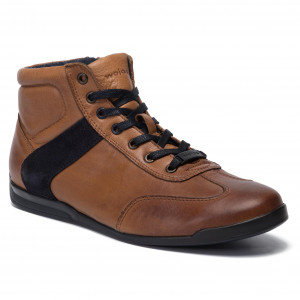 Schnürschuhe TOMMY HILFIGER Outdoor Hiking Lace Leather