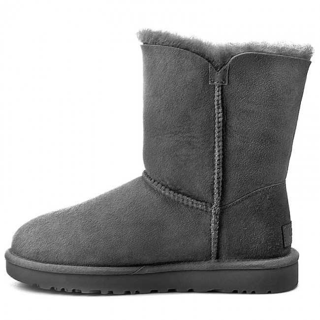 Chaussures UGG - W Bailey Button II 1016226 W/Grey - UGG - Bottes et autres - Femme Pvh4JQtI