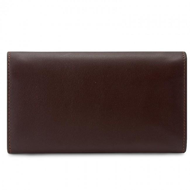 Portefeuille femme grand format GIOVANI - CE-007-D Marron - Portefeuilles femme - Portefeuilles - Maroquinerie - Accessoires TTF3Lr92