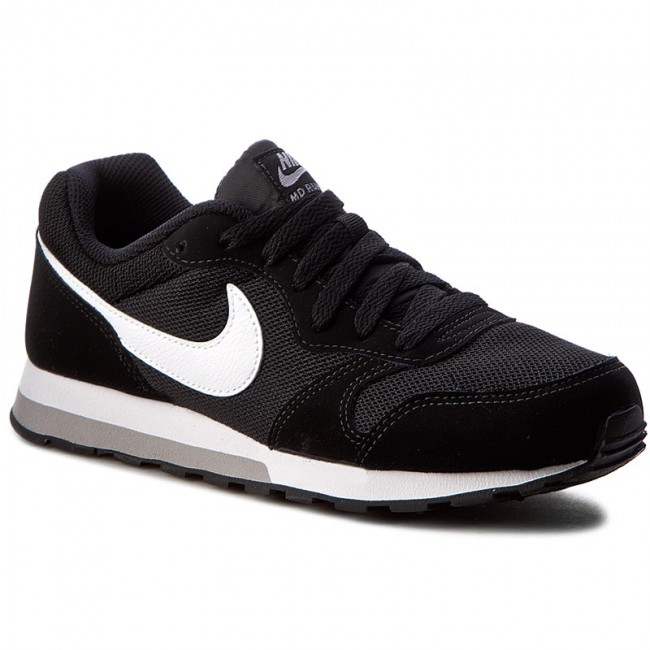 Chaussures NIKE Md Runner 2 (GS) 807316 001 BlackWhiteWolf Grey