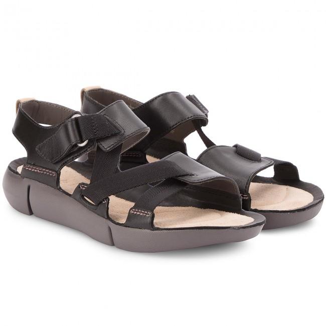 Sandales CLARKS - Tri Clover 261312734 Black Combi - Sandales décontractées - Sandales - Mules et sandales - Femme cX6zekSc