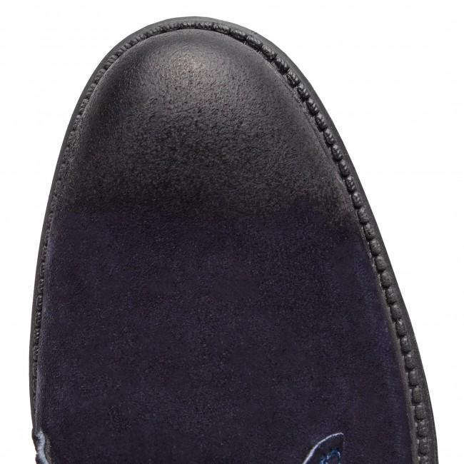 Boots LANQIER - 43A619 Bleu marine - Boots - Bottes et autres - Homme G2nIORKO