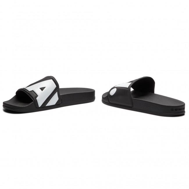 Mules / sandales de bain G-STAR RAW - Cart Slide II D08754-3593-964 Black/White - Mules - Mules et sandales - Homme caBYT8TT