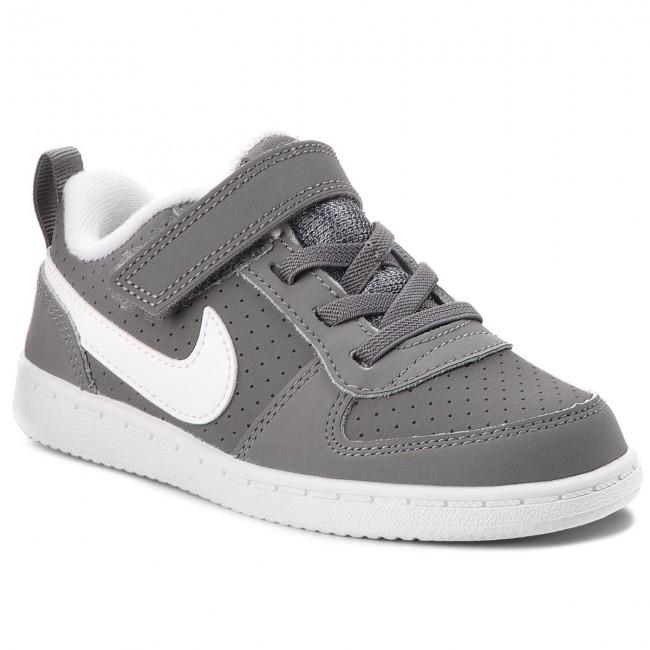 Chaussures NIKE Court Borough Low (TDV) 870029 002 Cool GreyWhite