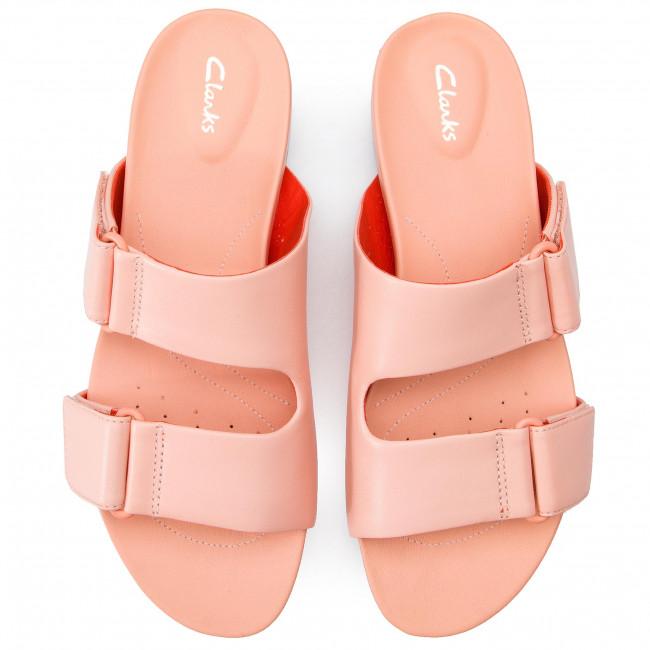 Mules / sandales de bain CLARKS - Bright Deja 261400934 Light Pink - Mules décontractées - Mules - Mules et sandales - Femme WNJ5ki5G
