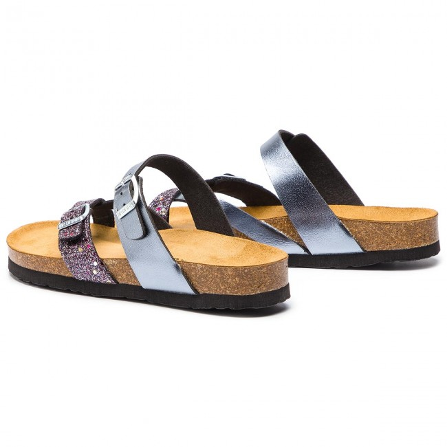 Tongs DR. BRINKMANN - 701255 Anthrazit 9 - Tongs - Mules et sandales - Femme vDOIlILn