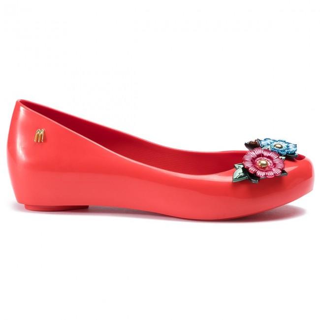 Ballerines MELISSA - Ultragirl Flower Chrom 32655 Red/Green/Blue 53469 - Ballerines - Chaussures basses - Femme BxCqYLT7