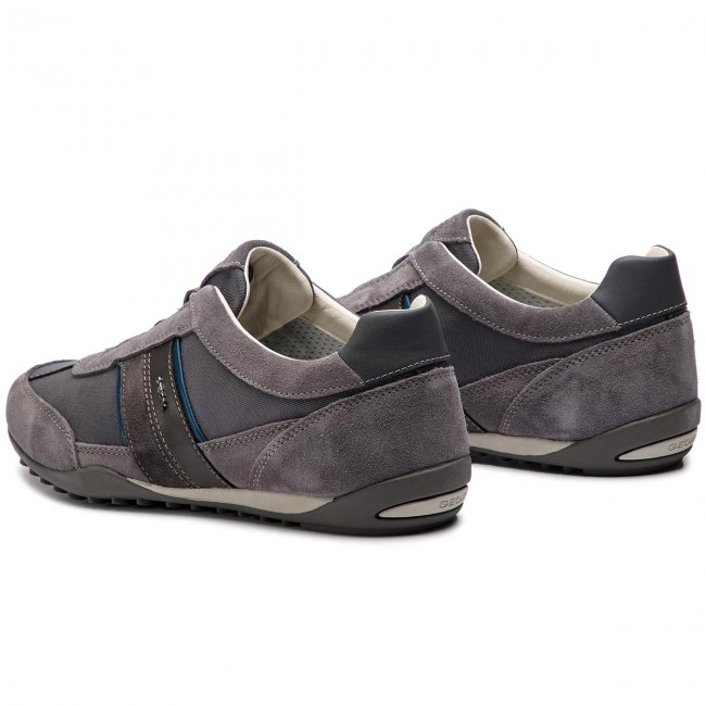Sneakers GEOX - U Wells A U82T5A 02211 C9002 Dk Grey - Sneakers - Chaussures basses - Homme YxXl15jD
