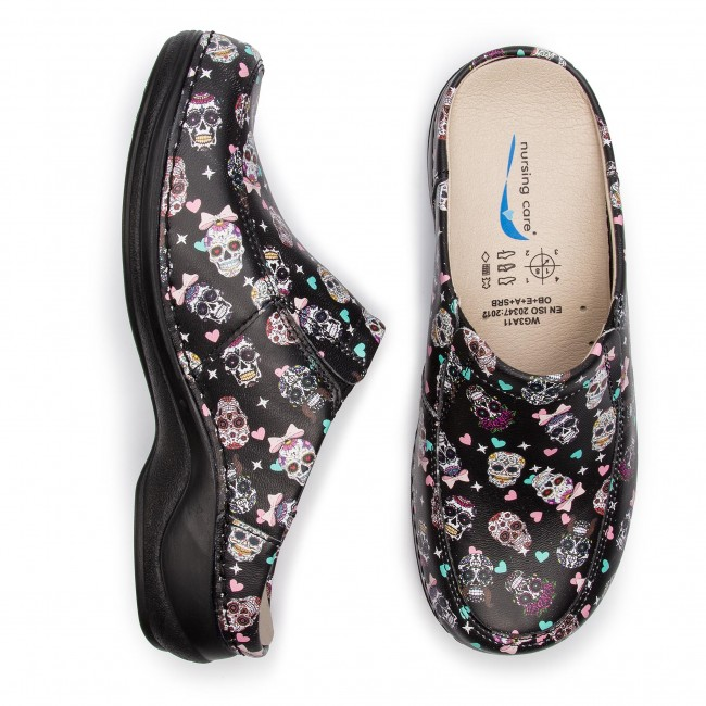 Mules / sandales de bain NURSING CARE - Paris WG4F22 Caveira/Mexicanskull - Mules - Mules et sandales - Femme k4BSTsI5