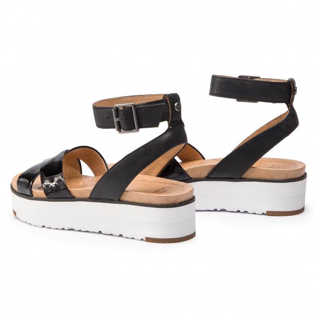 Sandales UGG - W Tipton 1102597 W/Blk - Compensées - Mules et sandales - Femme u97k5SjC
