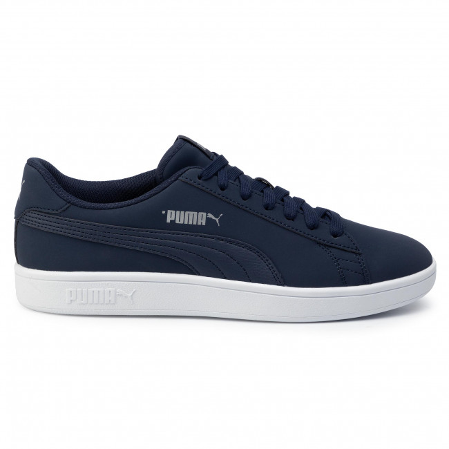 Sneakers PUMA - Smash V2 Buck 365160 15 Peacoat/Puma Silver/White - Sneakers - Chaussures basses - Homme JETTW0Vz