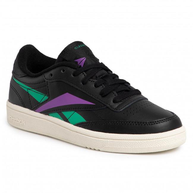 Chaussures Reebok Club C 85 DV7251 BlackEmeralGrapun
