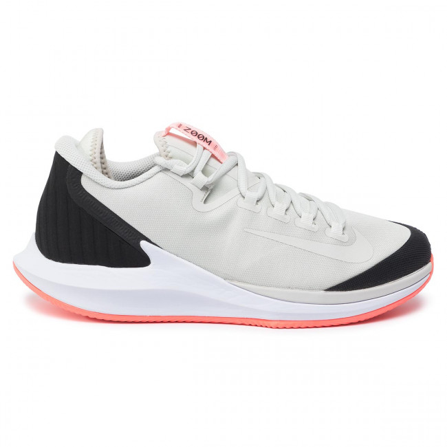 Chaussures NIKE - Nikecourt Air Zoom Zero Cly AA8017 009 Light Bone/Light Bone/Black - Tennis - Chaussures de sport - Homme EkWAZIBG