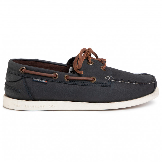 Mocassins SUPERDRY - Boat Shoe MF110030A Navy 11S - Mocassins - Chaussures basses - Homme xUDRO5kl