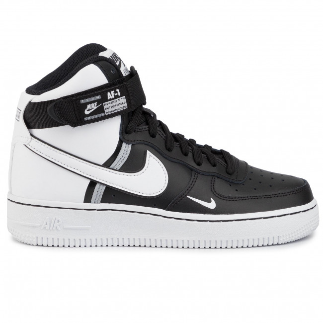 Chaussures NIKE - Air Force 1 High Lv8 2 (Gs) CI2164 010 Black/White/Wolf Grey/White