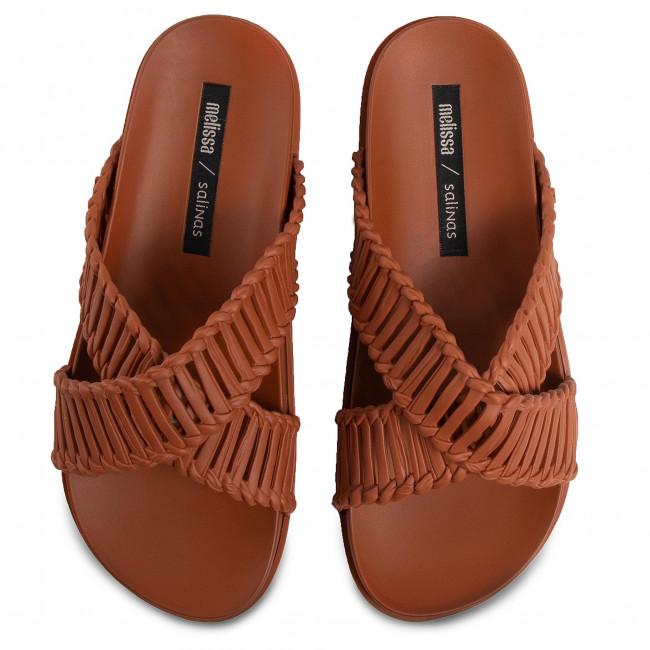 Mules / sandales de bain MELISSA - Cosmic II + Salinas Ad 32739 Brown 01459 - Mules décontractées - Mules - Mules et sandales - Femme 2V5egcBI