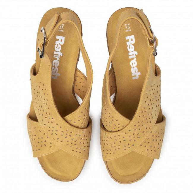 Sandales REFRESH - 69494 Yellow - Sandales décontractées - Sandales - Mules et sandales - Femme xJs4wSZf