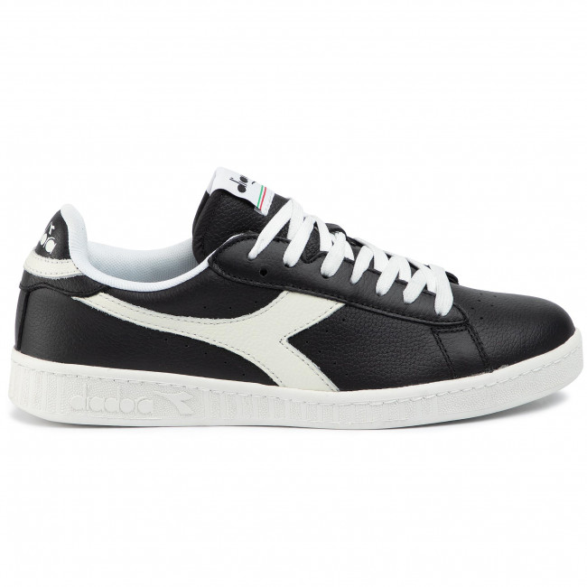Sneakers DIADORA - Game L Low 501.172526 01 C1092 Black/White/Black - Sneakers - Chaussures basses - Homme Ar0RawXO