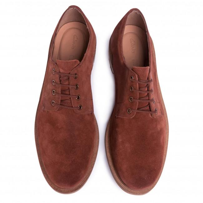 Chaussures basses CLARKS - Foxwell Hall 261480077 British Tan