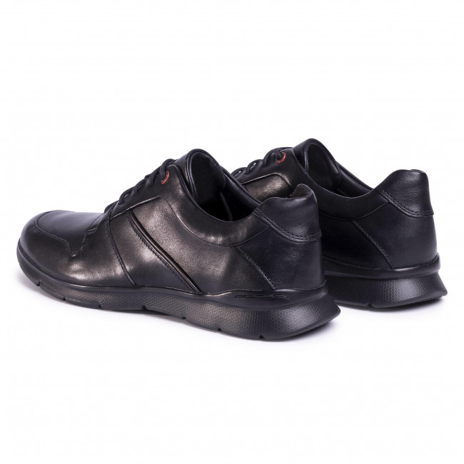 Sneakers CLARKS - Un Tynamo Flow 261486957 Black Leather