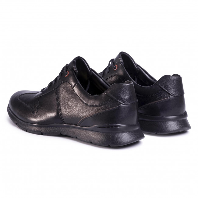 Chaussures basses CLARKS - Un Tynamo Tie 261483597 Black Leather