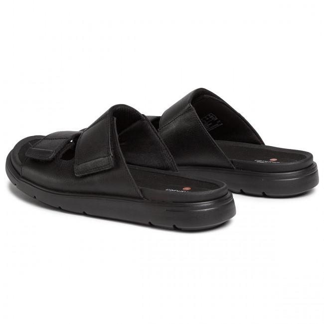Sandales CLARKS - UnWilmore Part 261486587 Black Leather