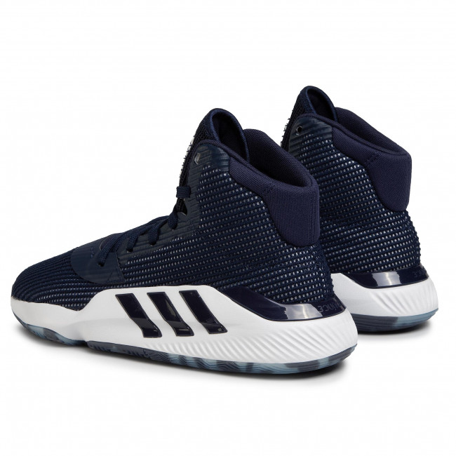 Chaussures adidas - Pro Bounce 2019 EF9834 Collegiate Navy/Cloud White/Cloud White - Basketball - Chaussures de sport - Homme PfAXUdE8